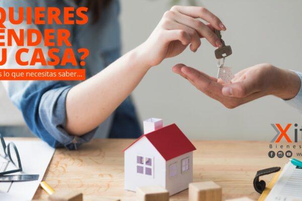 ¿Quieres vender tu casa? Esto es lo que necesitas saber …